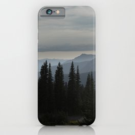 Forest Alpine iPhone Case