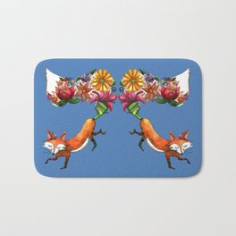 Hunt Flowers Not Foxes Two Bath Mat