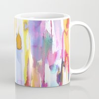 dance Mugs featuring Dance by Amy Sia
