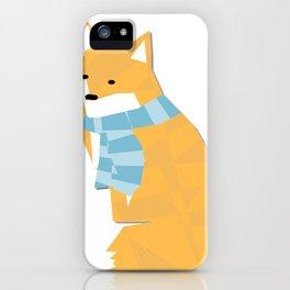 Cozy Fox iPhone Case