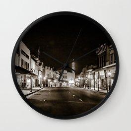 Mill St., Grass Valley, Ca. Wall Clock