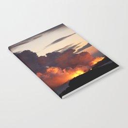 Lava Vaporizes Ocean Notebook