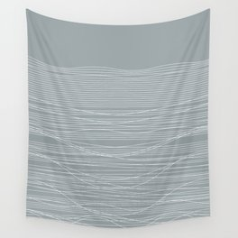 Unstable Lines Wall Tapestry