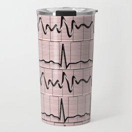 Cardiac Rhythm Strips EKG Travel Mug
