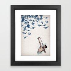 Lucky Shot Framed Art Print