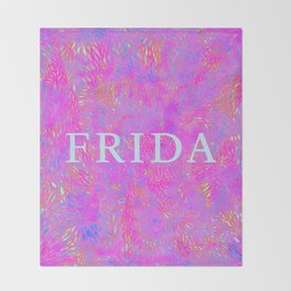 Frida 1 Throw Blanket