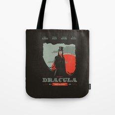 Dracula movie poster Tote Bag