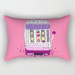 Love Machine Rectangular Pillow