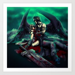 Lost Soldier of Fortune Art Print
