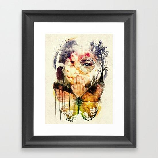 The Silence Framed Art Print