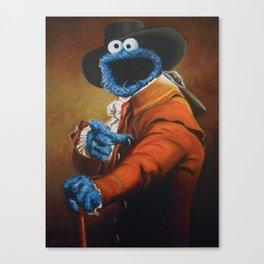 Monster Ducookie Canvas Print