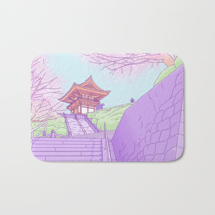 Everyday places in Japan Bath Mat