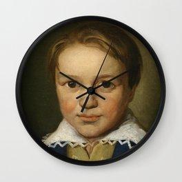 Thirteen Year Old Beethoven Wall Clock