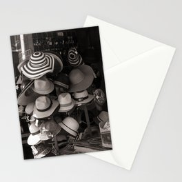 Hats for sale Stationery Cards