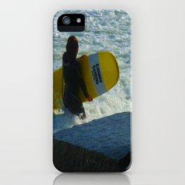 Little Surfer Girl iPhone Case