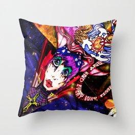 Intergalactic Guardian Starlight Throw Pillow