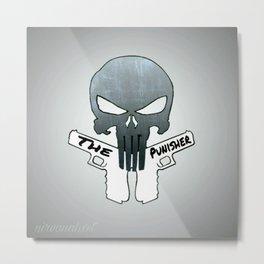 The Punisher (Cartoon) Metal Print