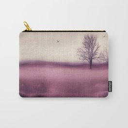 Winter Plum Carry-All Pouch