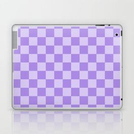Lavender Check Laptop & iPad Skin