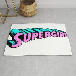 super girl supergirl sticker fun love cute 2018 hot superman Rug
