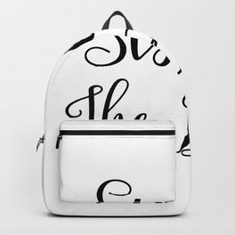 Sister Of The Bride - Bridal Party Backpack