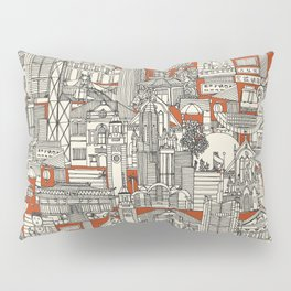 Hong Kong toile de jouy Pillow Sham