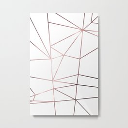 Metal nodes Metal Print