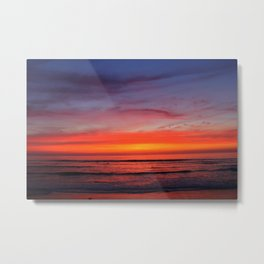 Scripps Pier - Sunset Metal Print