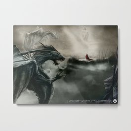 Lonely soldier Metal Print