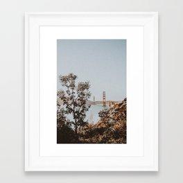 san francisco, california Framed Art Print