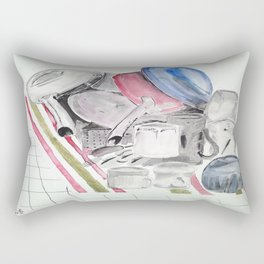 Dishes Rectangular Pillow