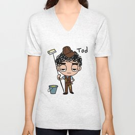 Painting Tod Unisex V-Neck