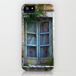 Abandoned Sicilian House in Noto iPhone Case