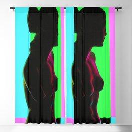 Venus De Milo (Color Bars) Blackout Curtain