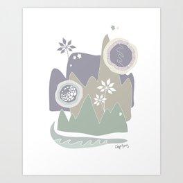cape bay Art Print