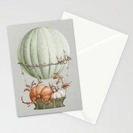Aerostat with harvest Stationery Cards
