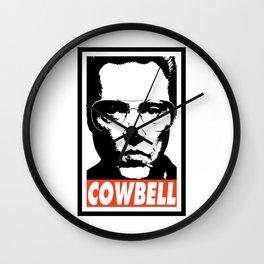 COWBELL Wall Clock