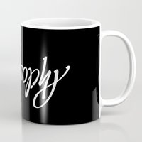 philosophy Mugs featuring Philosophy by John Langdon