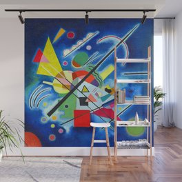 Wassily Kandinsky Blue Wall Mural