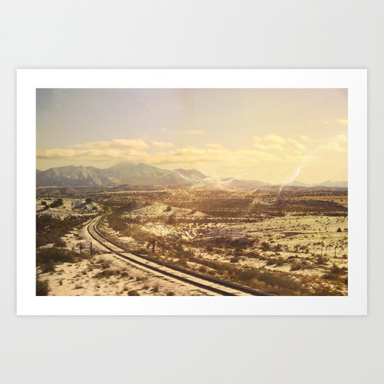 Land of Enchantment Art Print