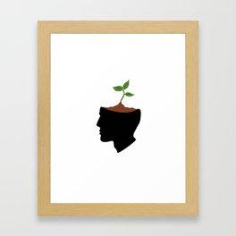 Growing idea Framed Art Print