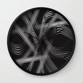 Crystal Strings Wall Clock