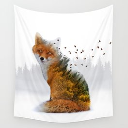 Wild I Shall Stay | Fox Wall Tapestry