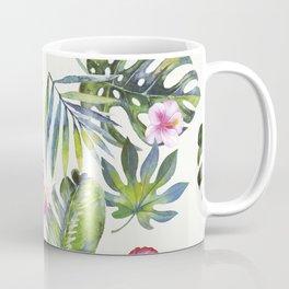 Palm Leaves Pattern 5 Coffee Mug