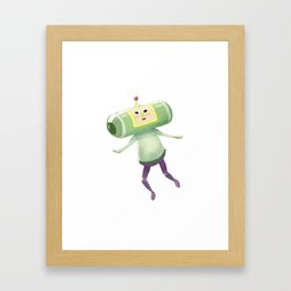 Prince of All Cosmos Framed Art Print