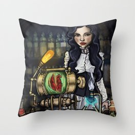Secret Laboratory Throw Pillow