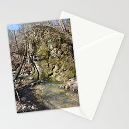 Alone in Secret Hollow with the Caves, Cascades, and Critters, No. 11 of 21 Stationery Cards