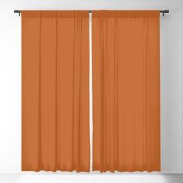 Pantone 17-1145 Autumn Maple Blackout Curtain