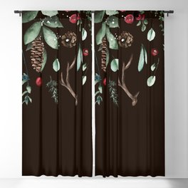 Winter holidays  Blackout Curtain