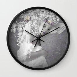 Beauty in the eye Wall Clock